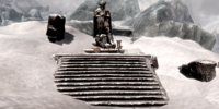 Shrine of Talos Winterhold Glaciers