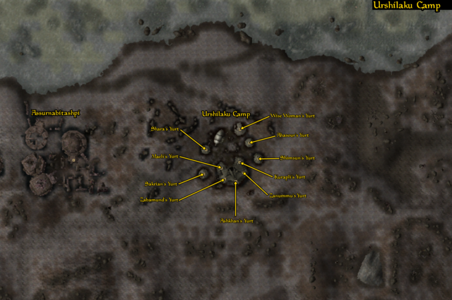 File:Urshilaku's Camp - Local Map - Morrowind.png