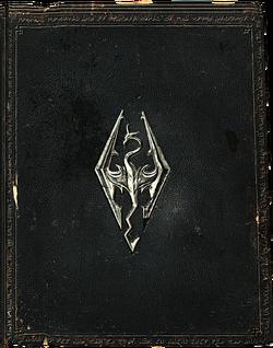 HighPolySkyrimBook