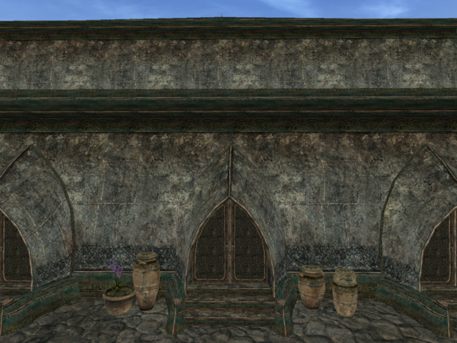 File:Mournhold Great Bazaar Pawnbroker Exterior View.png