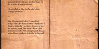 Bandit Thug's Journal