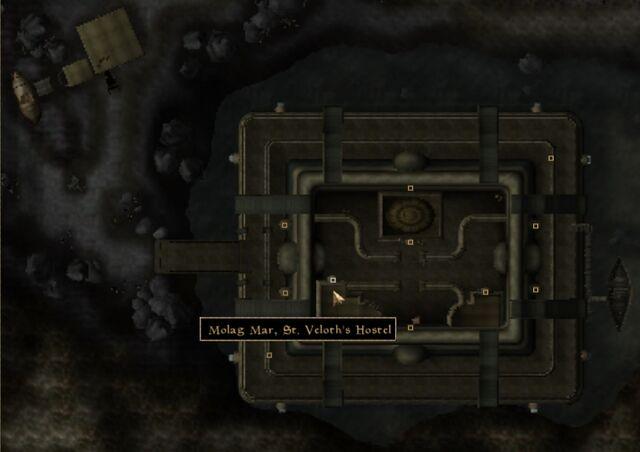 File:TES3 Morrowind - Molag Mar - St. Veloth's Hostel location map.jpg