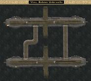 Vivec, Redoran Underworks Interior Map Morrowind