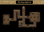Nchardahrk Interior Map - Morrowind