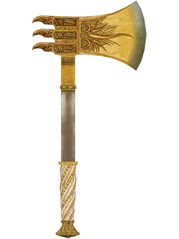 File:Golden War Axe.png
