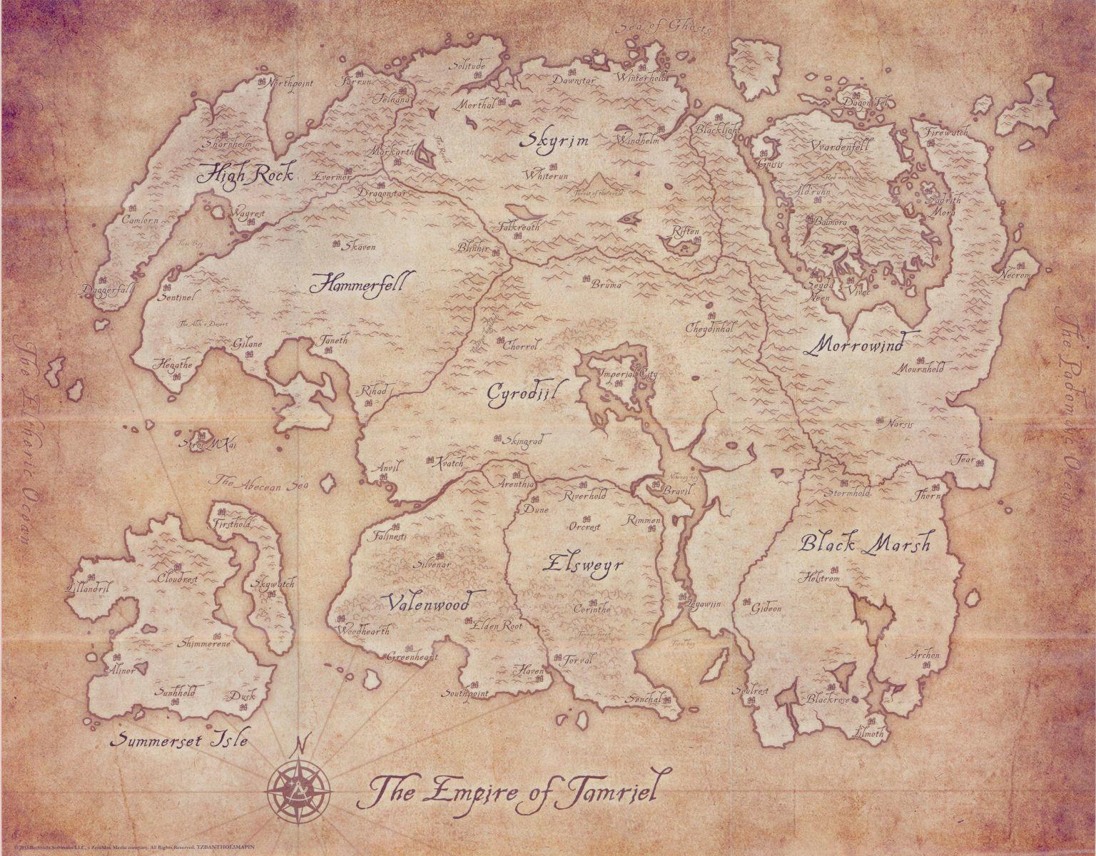 Tamriel  Elder Scrolls  FANDOM powered by Wikia