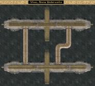 Arena Underworks - Interior Map - Morrowind