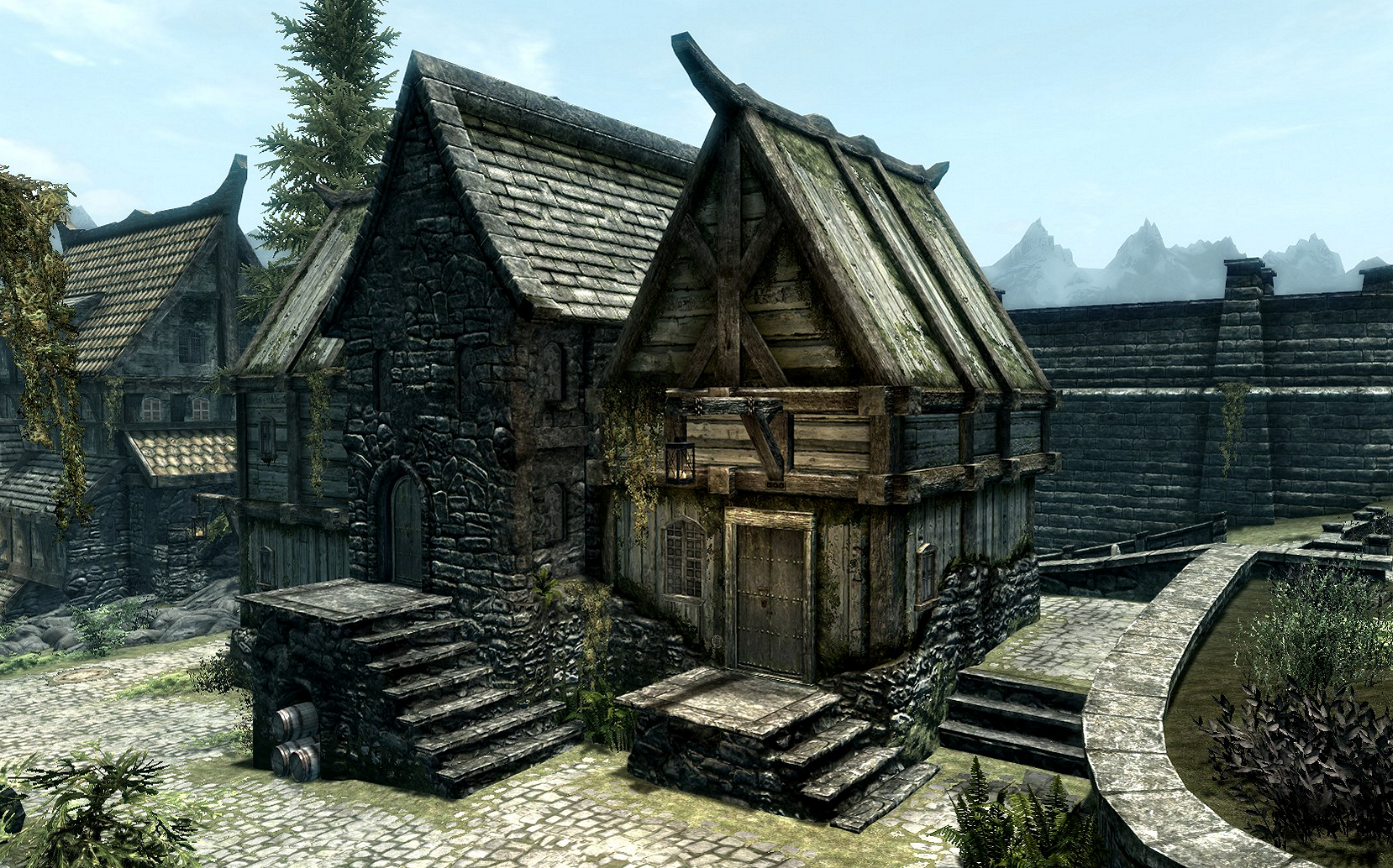 how to build the biggest house in skyrim