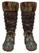 Orcish Boots (Oblivion) Female