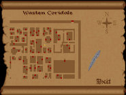 Wasten coridale view full map