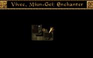 Vivec, Foreign Quarter, Miun-Gei Enchanter Interior Map Morrowind