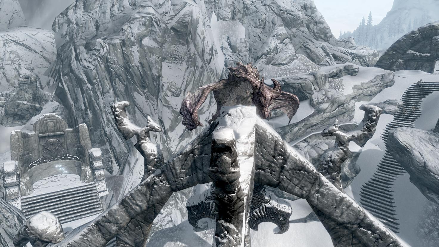 Image - Legendary Dragon Arcwind Wall.png | Elder Scrolls ...