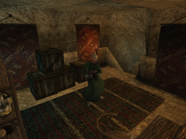 File:Vivec, Foreign Quarter, Lower Waistworks, Miun-Gei Enchanter Morrowind.png