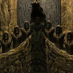 Kaplica z włożonymi maskami