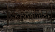 Honorhall Orphanage Sign