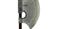 Fine Steel Battle Axe