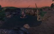 Hawkhaven Statue