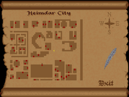Heimdar City view full map