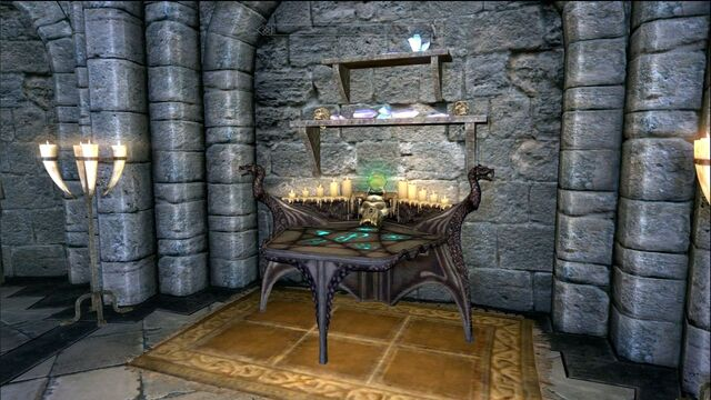 File:Skyrim Enchanting Table.jpg