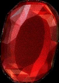 Flawless ruby