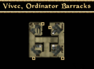 Ordinator Barracks Interior Map - Morrowind