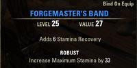 Forgemaster's Band