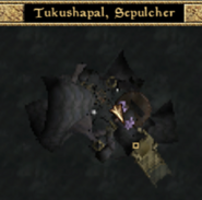 Tkushapal, Sepulcher Interior Map Morrowind