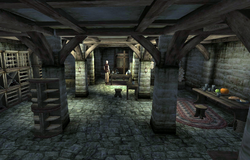 Sinderion's Cellar
