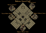 Redoran Council Hall Ground Level Interior Map