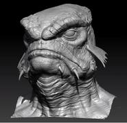 Naga Head Front