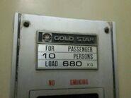 70s GoldStar data plate