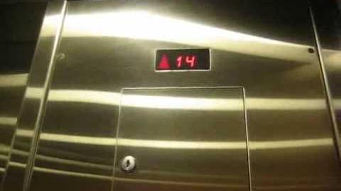 Schindler 400A Elevator @ the Hilton Garden INN near Lester P