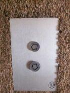 Fiam 1960s plastic buttons