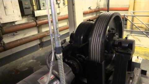 EXCLUSIVE Machine Room to 1960 Westinghouse & 2002 TKE Traction Elevators