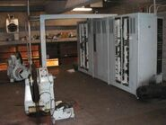 Machinery room (traction)