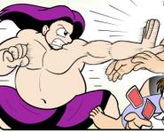 Sumo Wrestler Tedd