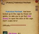 Mysterious Merchant Quest