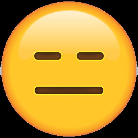 Image result for expressionless emoji transparent