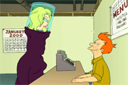 Futurama-pamela anderson's head