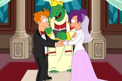 Futurama 726 wedding