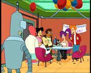 Futurama nibbler birthday