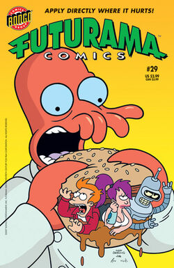 Futurama-29-Cover