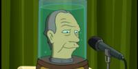 Ron Popeil's head