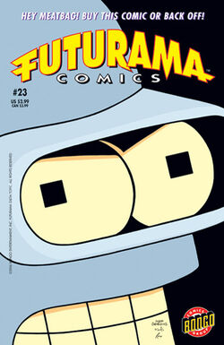 Futurama-23-Cover