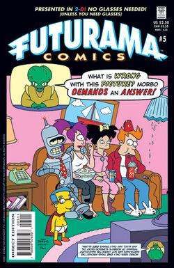 Futurama-05-Cover