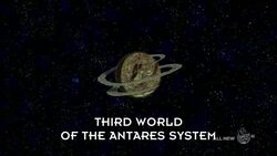 Third World of the Antares System