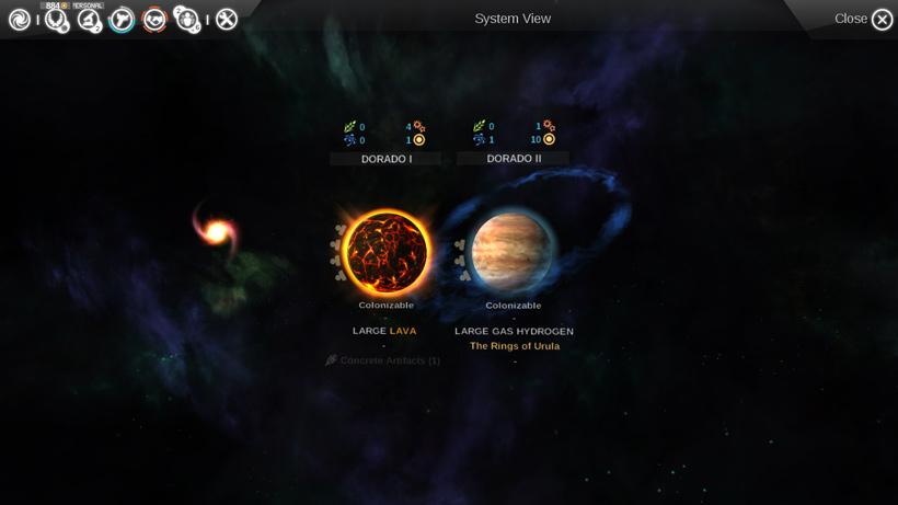Endless Space Rings Of Urula