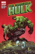 A incredible hulk comic cover