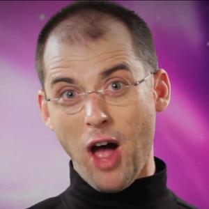 Steve Jobs In Battle