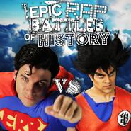 Goku vs Superman